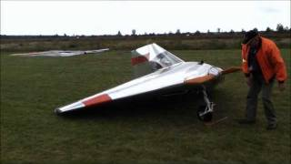 Verhees Delta, a FAST, tiny homebuilt airplane