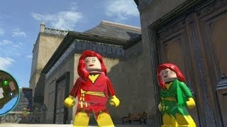 LEGO Marvel Super Heroes Dark Phoenix Free Roam Gameplay