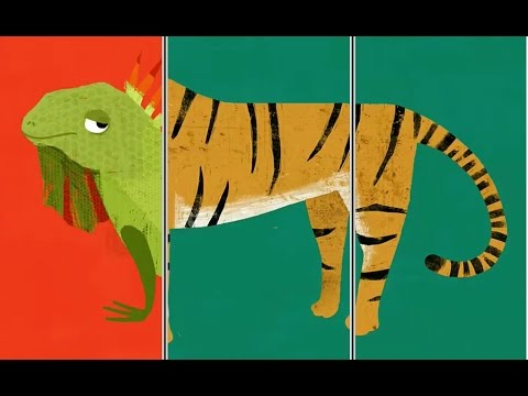 Animal Match Up -Part 1| Baby Learn The Names Of The Animals | Funny Animals Game For Kids