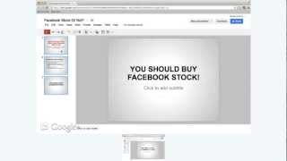 How To Make A Power Point Presentation On Google Drive