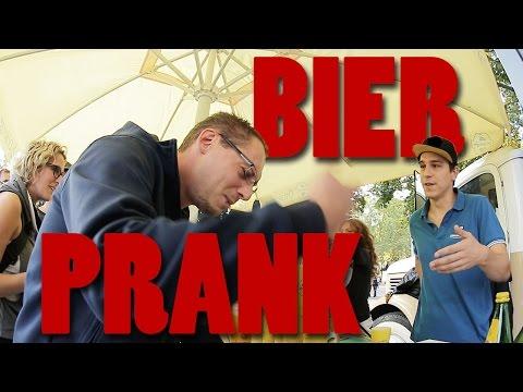 Bier Prank am Festival 2