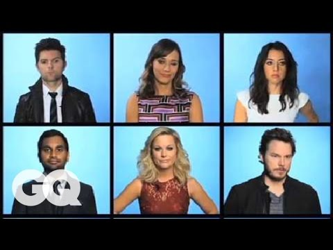 GQ's 2012 Men of the Year: The Cast of Parks and Rec - MOTY 2012 - GQ Men Of The Year
