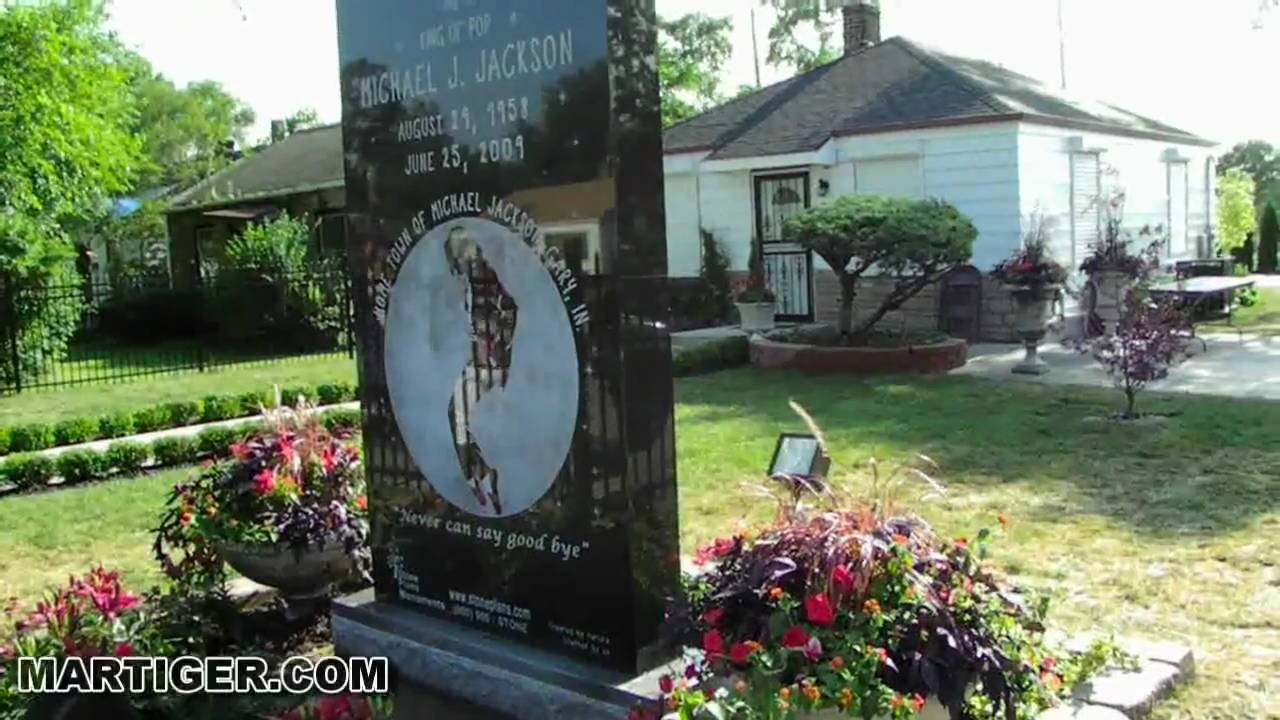 Michael jackson family house gary indiana youtube for Jackson 5 mural gary indiana