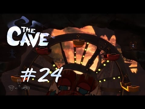 Let's Play The Cave #24 [BLIND!] [Full-HD] [Deutsch] - Spaß am Rummel
