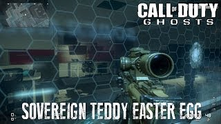 COD: Ghosts - 'Sovereign' Teddy Easter Egg