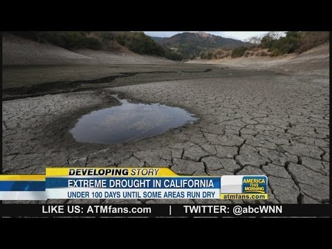 California Governor Warns Residents of Serious Drought