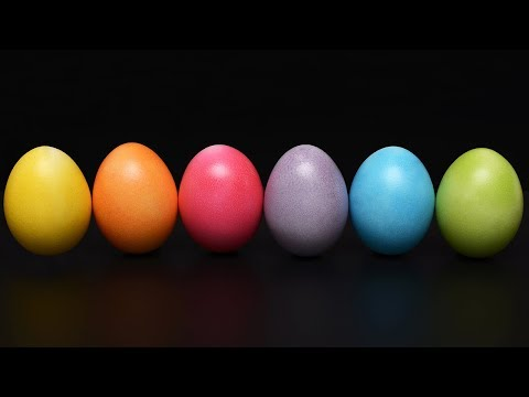 Why Do We Dye Easter Eggs? -- Thought Glass #2...