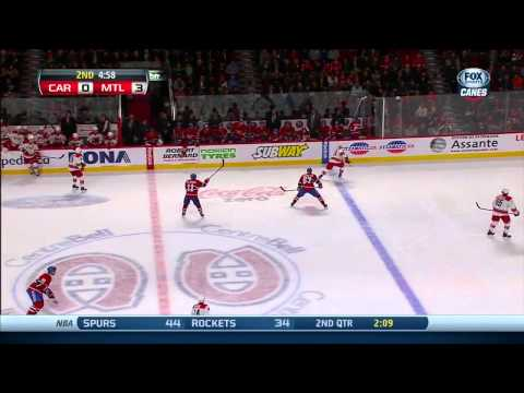 Carolina Hurricanes vs Montreal Canadiens 28.01.2014