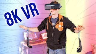8K VR Headset from China – BS marketing, very cool experience…