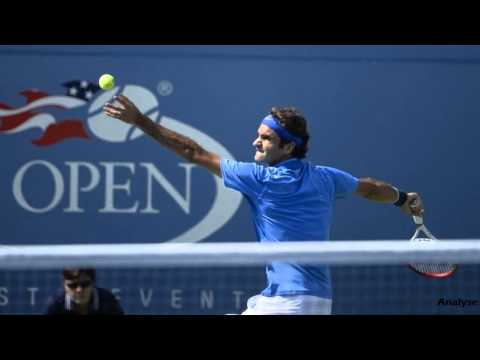 Roger Federer - Tommy Robredo / 4th Round US Open / September 2nd 2013 | Analyse