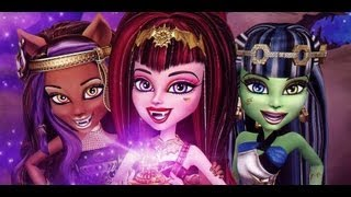 Monster High Draculaura 13 Wishes Makeup Tutorial