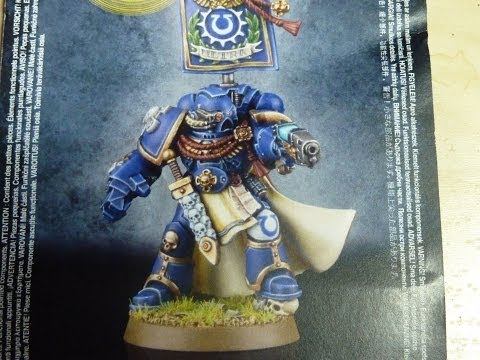Web Exclusive Limited Edition Space Marine Captain #2 unboxing and review (WH40K)