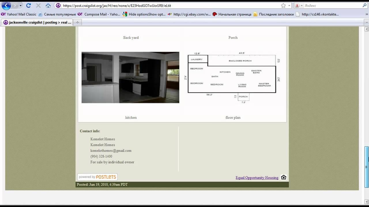 Section 8 Homes On Craigslist