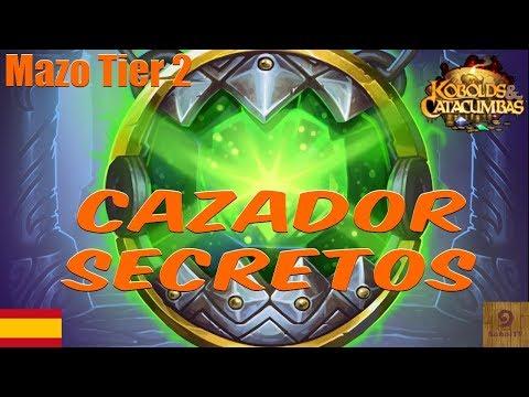Mazo cazador secretos 🤐 Mejores mazos hearthstone en español   Deck Hearthstone Tier 2