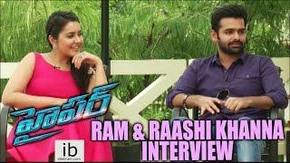Ram & Raashi Khanna interview about Hyper