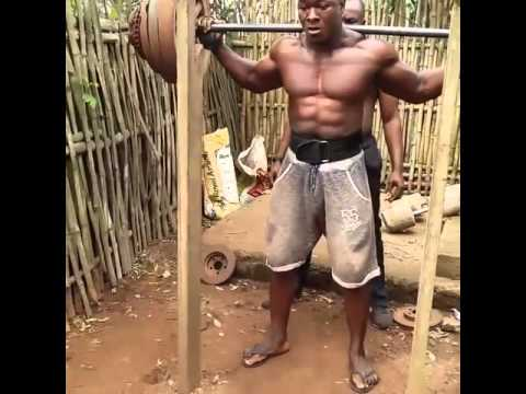 This is how a real workout looks like (Gym in Africa)