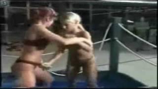 Amazing Female Mud Wrestlers