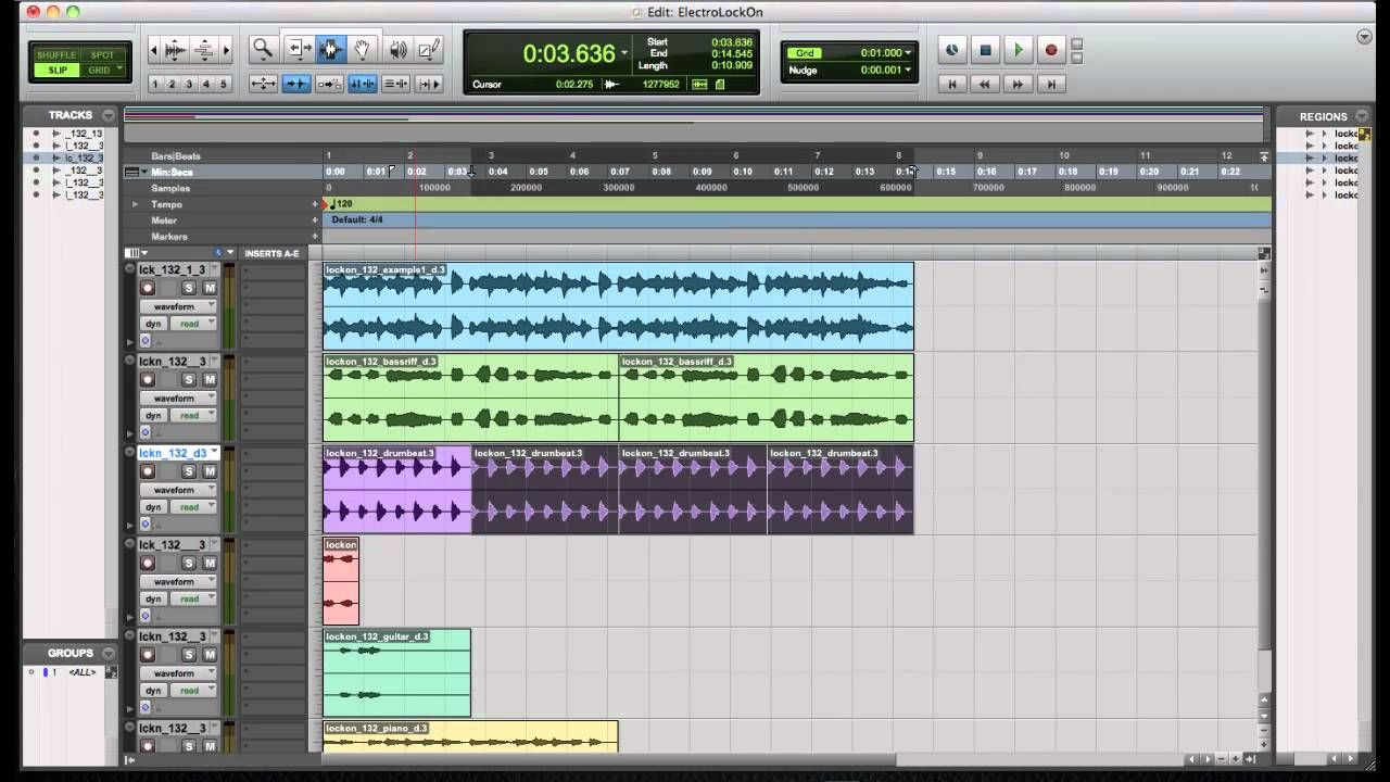 How to make electro house music fast and easy in protools for House music maker