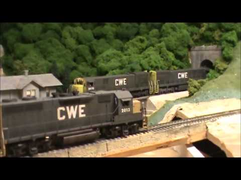 Railfanning the CWE HO Scale