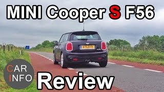 NEW MINI Cooper S F56: Review 2014