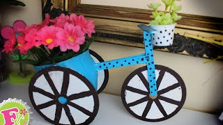 Florero en forma de Bicicleta