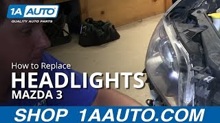 How To Install Replace Change Headlight And Bulb 2004-06