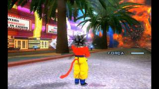 DRAGON BALL SKIN (GOKU SUPER SAYAJIN 4) GTA SAN ANDREAS