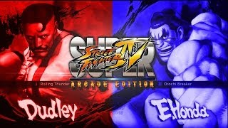 PIE Smug ( Dudley ) Vs Seiei enbu ( Honda ) 1st to 5 Arcade Edition 2012 1080p HD◄◄
