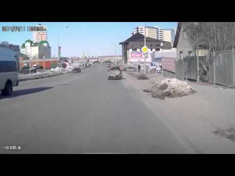 BMW driver not in a hurry