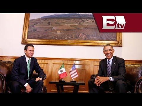Peña Nieto se reúne con Barack Obama previo a inicio de Cumbre de Toluca/ Rodrigo Pacheco