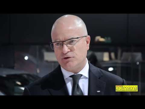 AP Interview WIth Audi AG's Terrence Johnson