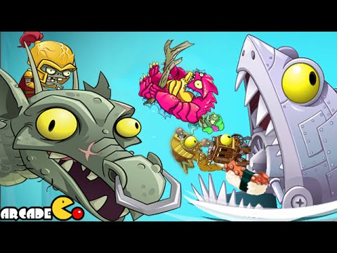 Plants Vs Zombies 2: ALL World Zomboss Battle