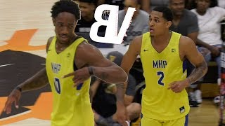Demar Derozan & Jordan Clarkson 2018 Drew League DEBUT! Barely Trying And Still Getting Buckets!