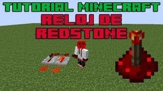 Minecraft 1.7.4 Reloj De Redstone