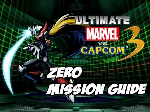 Ultimate Marvel vs Capcom 3 - Zero Mission Guide