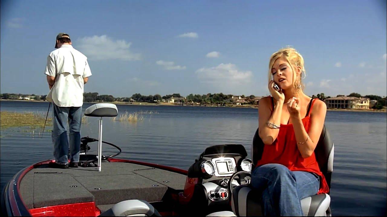 naked girls on bassboat