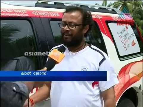 Lal Jose and team ready for Kochi to London travel :കാര് യാത്രക്കൊരുരുങ്ങി  മൂവര്സംഘം