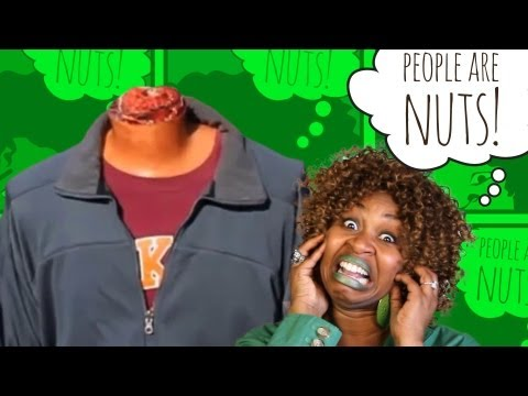 GloZell - People Are Nuts (10) about Pranks! Do you want fries with ahhhhhh!  Mousetrap earrings?