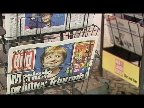 'Mutti' is 'Germany's Darling' as Merkel mesmerises media