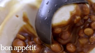 How to Make a Peanut Butter Mothernucker from Morgenstern Finest Ice Cream | Bon Appétit
