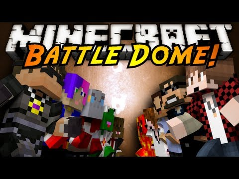 Minecraft Mini-Game : BATTLE DOME!