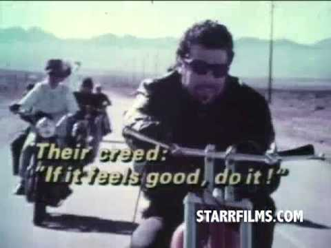 REBEL ROUSER 1970 Movie Trailer Motorcyles Jack Nicholson bikers