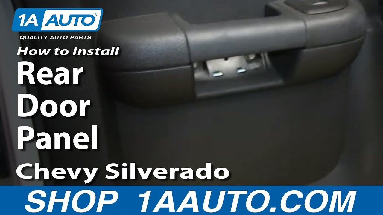 can i find a 2005 ford ranger fuse box diagram online how to install remove rear door panel 2007 13 chevy  how to install remove rear door panel 2007 13 chevy