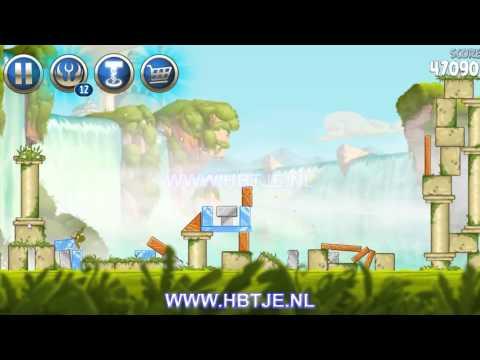 Angry Birds Star Wars 2 Naboo Invasion b1-15 3 stars