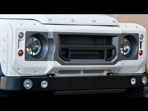#landrover Land Rover - Kahn Design Land Rover Defender White Review.!!