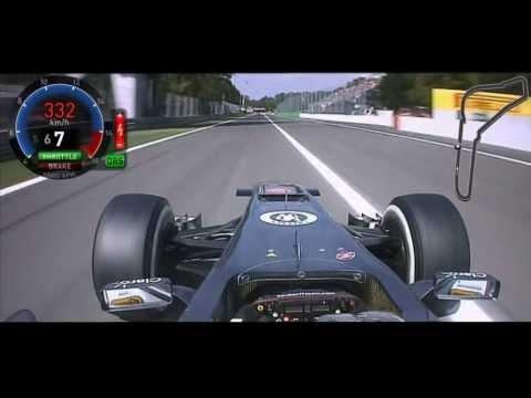 F1 2013 Monza Nico Hülkenberg Onboard [FOM] HD