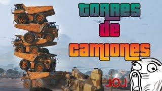 GTA V Online - TORRES DE CAMIONES Y DUMBS EPILÉPTICOS XDD -