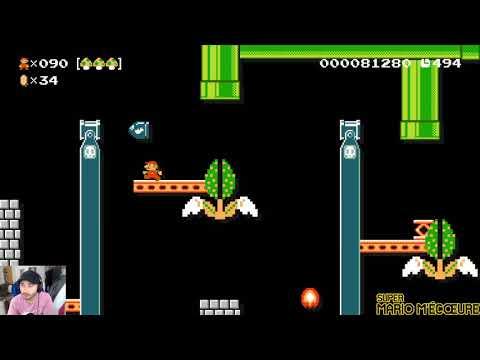 [Ep#137] Super Mario M'écoeure - Expert no skip : un run killer ?