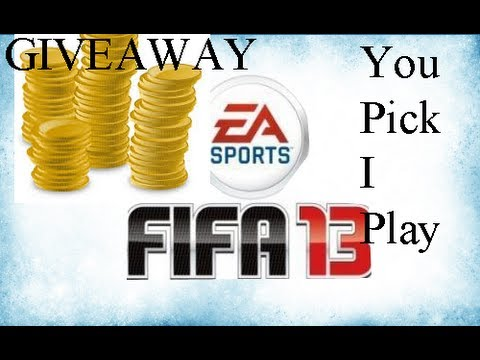 (PS3) FIFA 13 Ultimate Team | Donation | Giveaway FIFA | You Pick I Play | RTG