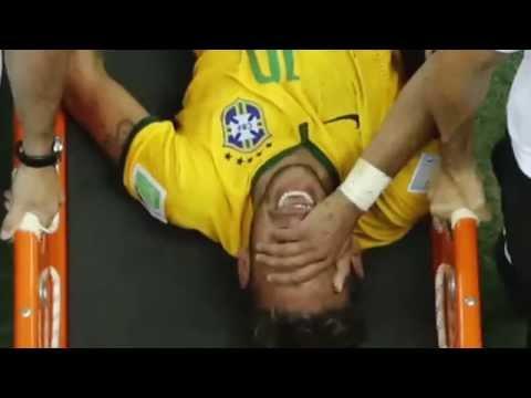 Neymar Verletzung - Lendenwirbelbruch nach Horror foul